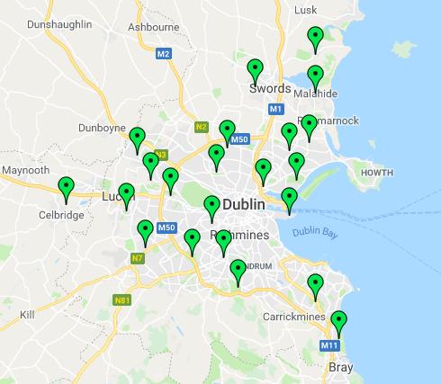 Dublin Map 210418