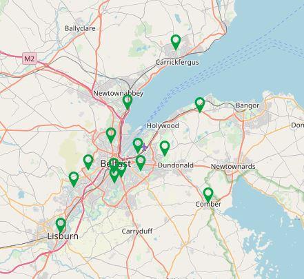 Belfast Map 300319